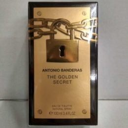 Antonio Banderas The Golden Secret оригинальная туалетная вода для мужчин 100 мл.