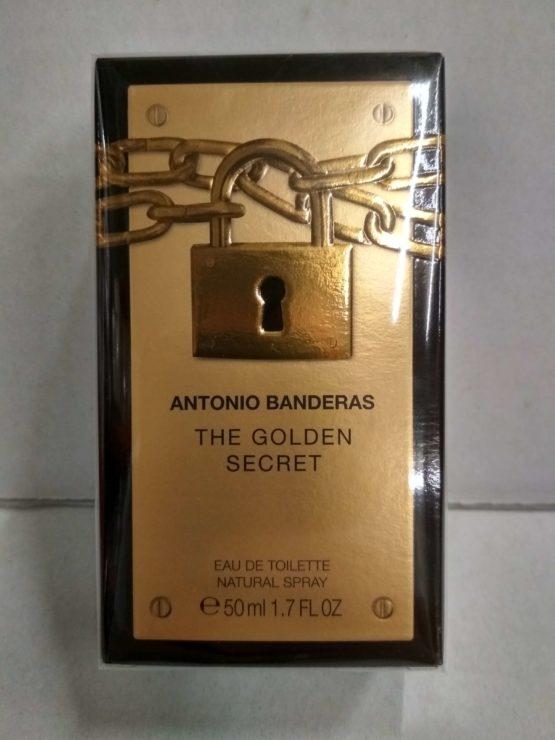 Antonio Banderas The Golden Secret оригинальная туалетная вода для мущин 50 мл