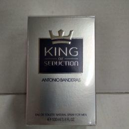 Antonio Banderas King of Seduction оригинальная туалетная вода для мущин 100 мл. купить недорого в Киеве