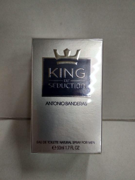 Antonio Banderas King of Seduction оригинальная туалетная вода для мущин 50 мл. Купить недорого в Киеве с доставко по Украине