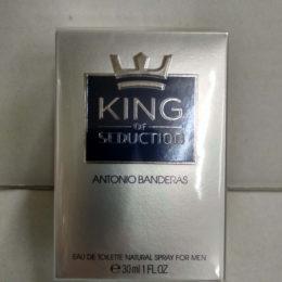 Antonio Banderas King of Seduction Купить оригинальную туалетную вода для мущин 30 мл. в Киеве недорого с доставко по Украине
