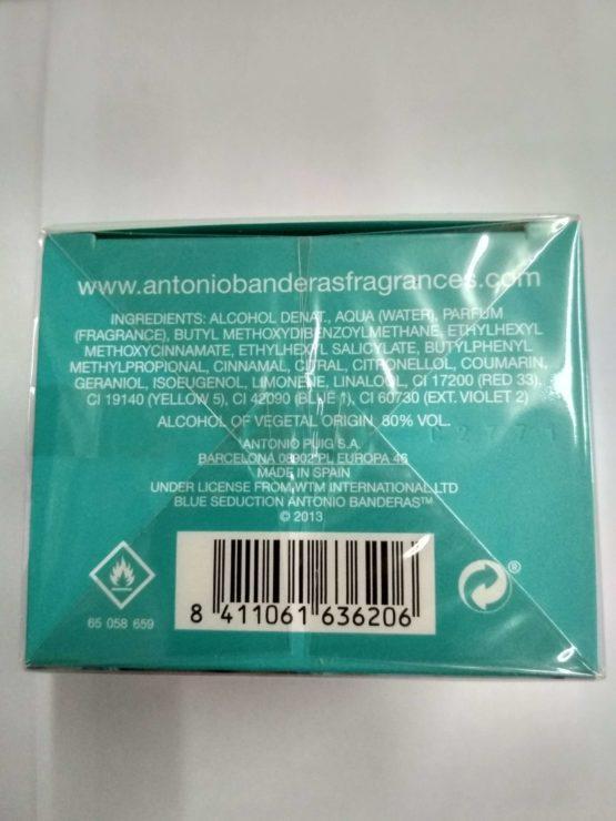 Antonio Banderas Blue Seduction for Women купить недорого оргинальную туалетную воду для женщин в Киеве с доставкой.