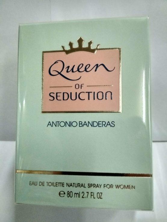 Antonio Banderas Queen of Seduction женская туалетная вода 80 мл. оригинал купить недорого в Киеве с доставкой по Украине