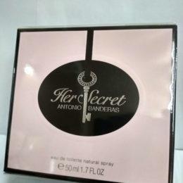 Antonio Banderas Her Secret женская туалетная вода оригинал купить недорого в Киеве с доставкой по Украине.