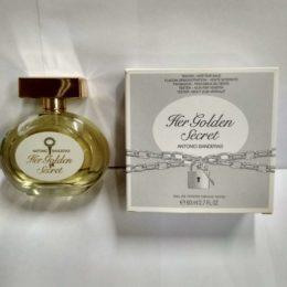 Antonio Banderas Her Golden Secret оригинальная туалетная вода для женщин по хорошей цене купить в Киеве