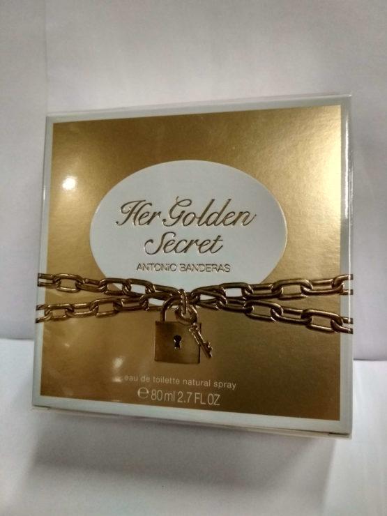 Antonio Banderas Her Golden Secret оригинальная туалетная вода для женщин купить в Киеве недорго