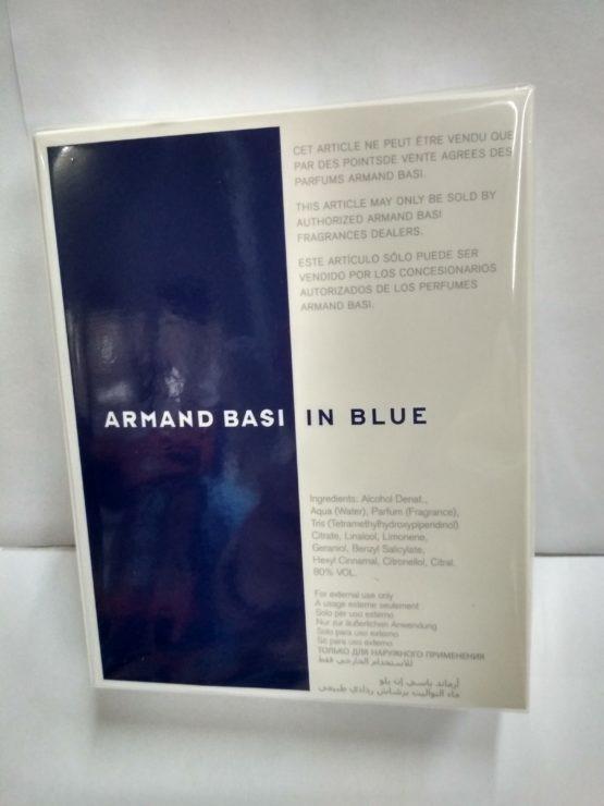 Armand Basi In Blue купить оригинальную туалетную воду вКиеве