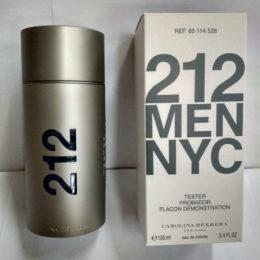 Carolina Herrera 212 Men NYC 100 ml Tester Купить оригинал в Киеве цена дешевле магазина лэтуаль