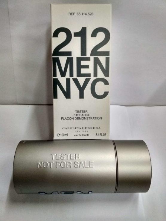Carolina Herrera 212 Men NYC 100 ml Tester Купить недорого оригинал в Киеве