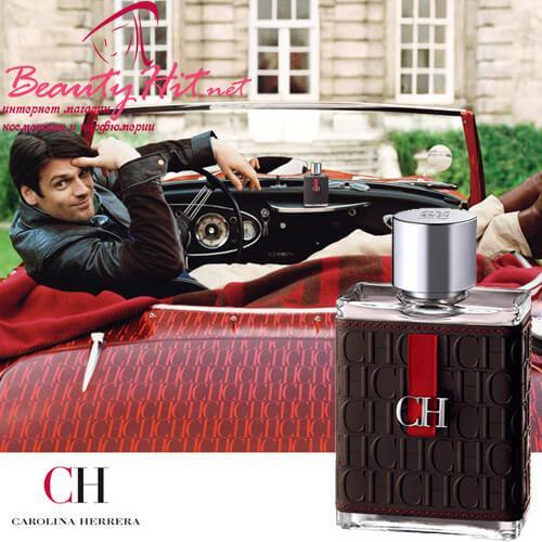Carolina Herrera CH Men 100 ml дешевле Лэтуаль купить в Интернет магазине парфюмерии parfumin.kiev.ua