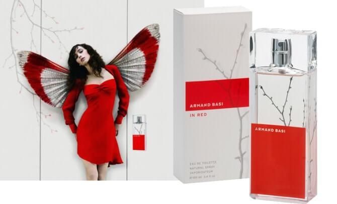 Armand Basi In Red 50мл оригинал Купить недорого в Киеве
