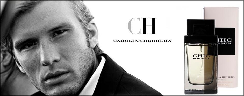 Carolina Herrera Chic For Men 100 ml Tester цена дешевле брокарда. Купить в Киеве с доставкой