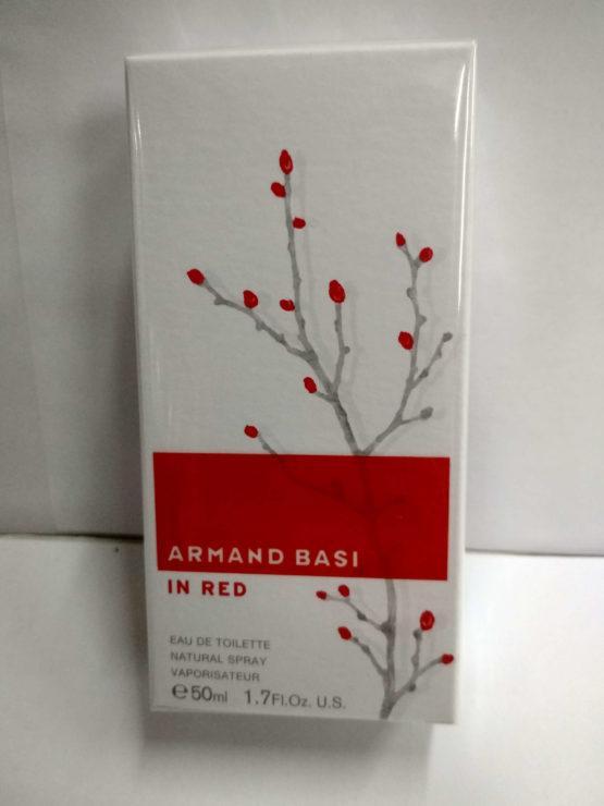 Armand Basi In Red 50 ml лэтуаль купить в Киеве официальный интернет-магазин элитной парфюмерии parfumin.kiev.ua
