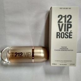 Carolina Herrera 212 Vip Rose 80ml Tester купить оригинал,цена дешевле брокарда в интернет-магазине parfumin.kiev.ua