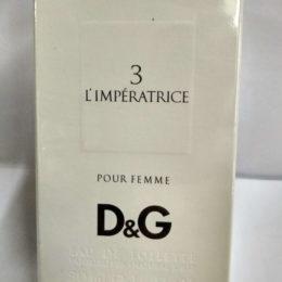 Dolce&Gabbana Anthology 3 L'Imperatrice 50 мл. Купить оригинал по цене дешевле брокарда в Киеве с доставкой