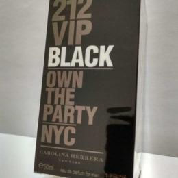 Carolina Herrera 212 VIP Black Men 50 мл лэтуаль купить в официальном интернет-магазине елитной парфюмерии