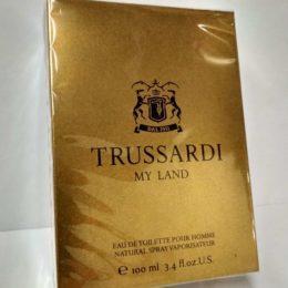 Trussardi My Land 100мл оригинал купить в Киеве по цене дешевле брокарда официальный интернет-магазин элитной парфюмери www.parfumin.kiev.ua