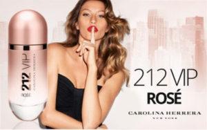 Carolina Herrera 212 Vip Rose купить недорого оригинал 50мл в Киеве с доставкой