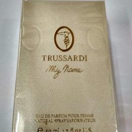 Trussardi My Name 50 мл. купить в Киеве по цене дешевле брокарда в официальном интернет-магазине элитной парфюмерии parfumin.kiev.ua