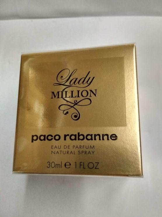 Paco Rabanne Lady Million 30 мл купить оригинал в Киеве по цене дешевле брокарда в официальном интернет-магазине элитной парфюмерии parfumin.kiev.ua